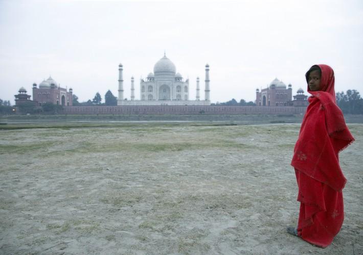 Nebensächlichkeiten am Taj Mahal